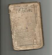 Livret Militaire Défossez état Moyen-195 Rég D'infanterie-1874 - Libri, Riviste & Cataloghi
