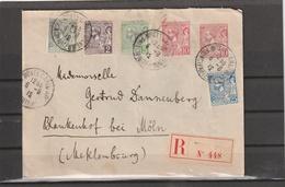 Monaco REGISTERED COVER To Germany 1912 - Mónaco