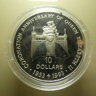 Solomon Islands 10 Dollars 1992 Silver Proof - Solomon Islands