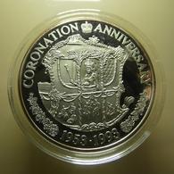 Turks And Caicos Islands 20 Crowns Coronation Anniversary 1953-1993 - Turks E Caicos (Isole)