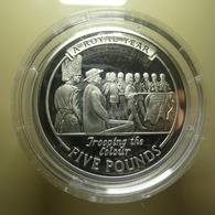 Gibraltar 5 Pounds 2005 Silver Proof - Gibraltar
