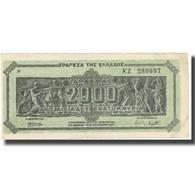Billet, Grèce, 2,000,000,000 Drachmai, 1944, 1944-10-11, KM:133b, SUP - Grecia