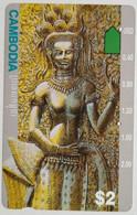 Cambodia $ 2.00 Statue - Kambodscha