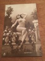 Ancienne Carte Postale Photographie Erotique Femme Nu 1930 Italia - Nus Adultes (< 1960)