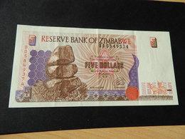 Bank Of Simbabwe 5  Dollars 1997 - Simbabwe