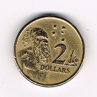 -&   AUSTRALIE  2  DOLLARS  1999 - Monnaie Décimale (1966-...)