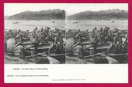 CPA Collection Jules Gervais Courtellemont - Chine - Le Fleuve Bleu à Tchong King - Chine