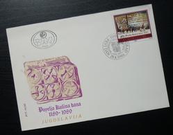 1989 Yugoslavia FDC Serbia Kulin Ban Charter Bosnia B35 - FDC