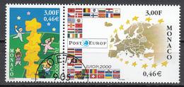 Monaco  Europa Cept 2000 Paar Gestempeld Fine Used - 2000