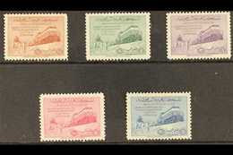 1952  Dammam-Riyadh Railway Complete Set, SG 372/376, Never Hinged Mint. (5 Stamps) For More Images, Please Visit Http:/ - Saudi-Arabien