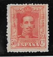 Espagne N°283a Rouge-orange - Neufs * Avec Charnière - B/TB - Neufs