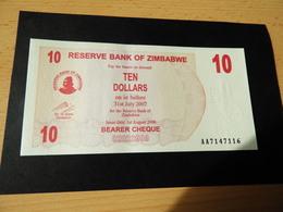 Bank Of Simbabwe  10.000 Dollars 2006 - Simbabwe