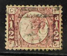 """1870  ½d Rose """"Bantam"""", Plate 9, SG 49, Fine Used Well Centred Example. For More Images, Please Visit Http://www.sandafa - 1840-1901 (Viktoria)"""