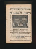 GENT  RECLAME UIT BOEK +- 1920  FABRIEK VAN FIJNE CHARCUTERIËN  KERKSTRAAT 110 LEDEBERG  23 X 15 CM - Gent