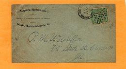 Panama 1894 Cover Mailed Nice Cancel - Panama