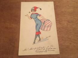 Ancienne Carte Postale Illustrateur Xavier Sager - Sager, Xavier