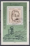 DDR  Block 54, Gestempelt,  Albert Einstein 1979 - [6] Repubblica Democratica
