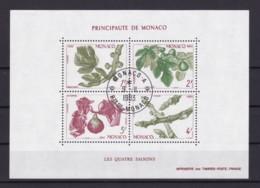 MONACO 1983 FOUR SEASONS II (MI BL 24) BLOCK USED/CANCELLED (o) - Monaco