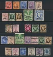 BRITISH OCCUPATION ITALIAN COLONIES, Collection (10/- Small Tear) - Salomonseilanden (...-1978)