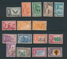 SARAWAK, 1938 Set, With Both 10c Fine, Cat GBP 51 - Sarawak (...-1963)