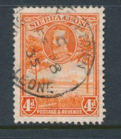 SIERRA LEONE, 1932 4d Fine, Cat GBP 16 - Sierra Leone (...-1960)