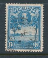 SIERRA LEONE, 1932 6d Fine, Cat GBP 6 - Sierra Leone (...-1960)