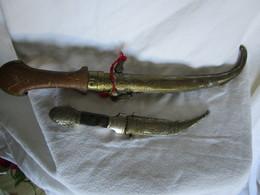 2 Couteaux Déco - Armas Blancas