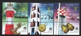 Israel 2009  Yv. 2002-04, Lighthouses – Tab - MNH - Neufs (avec Tabs)