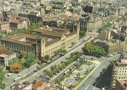 BARCELONA . PLAZA UNIVERSIDAD - VISTA AERA . CARTE NON ECRITE - Barcelona