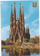 BARCELONA . TEMPLE DE LA SACREE FAMILLE . CARTE NON ECRITE - Barcelona