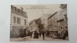 REPRO CPA// PLENEUF VAL ANDRE Place Saint SYMPHORIEN - Pléneuf-Val-André