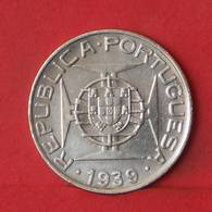 SAINT THOMAS E PRINCIPE 10 ESCUDOS 1939 - ***SILVER***   KM# 7 - (Nº35483) - Santo Tomé Y Príncipe