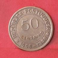 GUINÉ 50 CENTAVOS 1946 -    KM# 6 - (Nº35487) - Guinea Bissau
