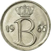 Monnaie, Belgique, 25 Centimes, 1966, Bruxelles, TTB, Copper-nickel, KM:154.1 - 1951-1993: Baudouin I