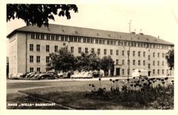 """Darmstadt, Haus """"Wella"""", 1958, Mit Freistempler Der Wella-AG Nach Frankreich / Bordeaux - Darmstadt"""
