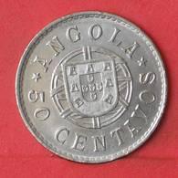 ANGOLA 50 CENTAVOS 1923 -    KM# 65 - (Nº35493) - Angola