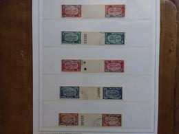 ISRAELE 1948 - Anno Nuovo 5709 - Nn. 10/14 In Coppie - Tête-bêche Con Ponte + Spedizione Prioritaria - Israele