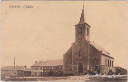 Postkaart Beauwelz Straßenpartie Und Kirche 1918  - Belgique