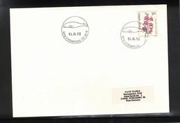Norway 1990 Svalbard / Spitzbergen Pyramiden Postmark Interesting Letter - Polar Philately