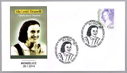 IDA LENTI BRUNELLI - Justa De Las Naciones - Righteous Among The Nations. Monselice, Padova, 2014 - Judaika, Judentum