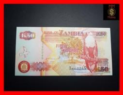 ZAMBIA 50 Kwacha 1992 P. 37 A   UNC - Zambia