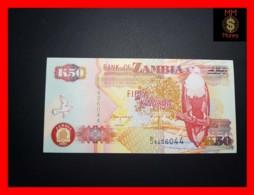 ZAMBIA 50 Kwacha 2001 P. 37 C   UNC - Zambia