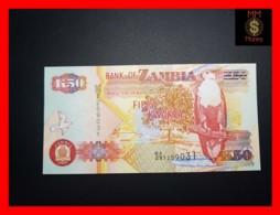 ZAMBIA 50 Kwacha 2003 P. 37 D Printer  SABN   UNC - Zambia