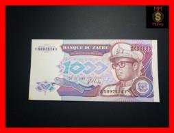 ZAIRE 1.000  1000 Zaires 24.11.1989  P. 35 RARE  UNC - Zaire