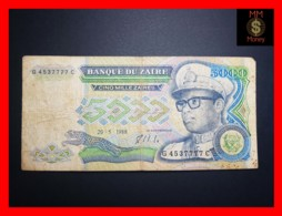 ZAIRE 5.000 5000 Zaires  20.5.1988  P. 37 A RARE Good - Zaire