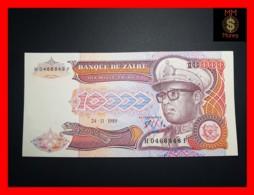 ZAIRE 10.000  10000 Zaires  24.11.1989  P. 38  UNC - Zaire
