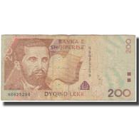 Billet, Albania, 200 Lekë, 2001, KM:63a, TB - Albania