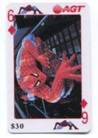 Telecarte AGT - Spider Man - 6 De Carreau - Telefoonkaarten