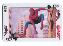 Telecarte AGT - Spider Man - 6 De Trèfle - Telefoonkaarten