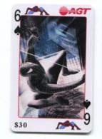 Telecarte AGT - Spider Man - 6 De Pique - Telefoonkaarten